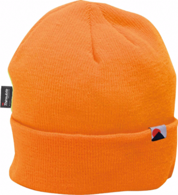 B013 Insulated Knit Cap Insulatex Lined Hi-Vis